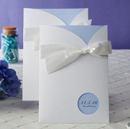 light blue wedding invitation printable by on etsy