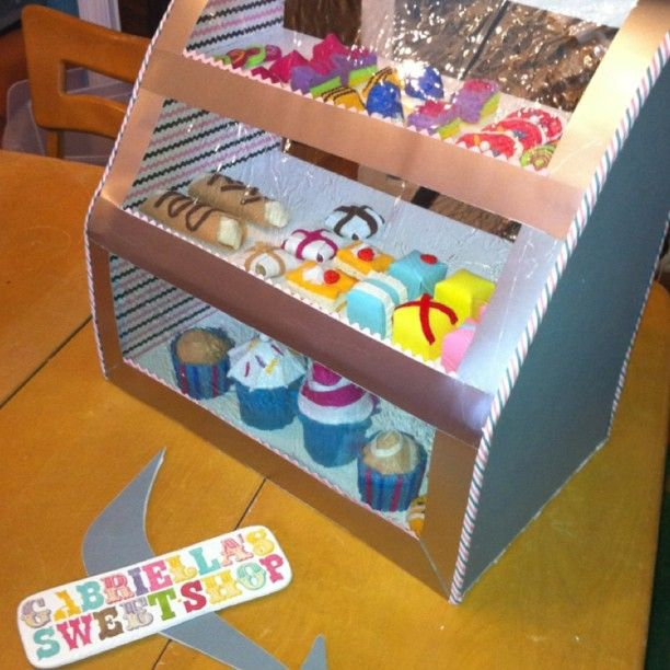 Toy Bakery I made for my daughter