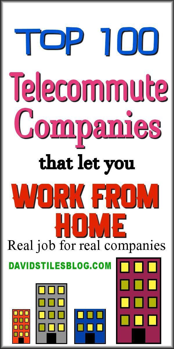 work from home telecommute jobs