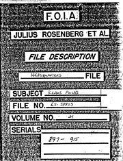 FBI — Klaus Fuchs