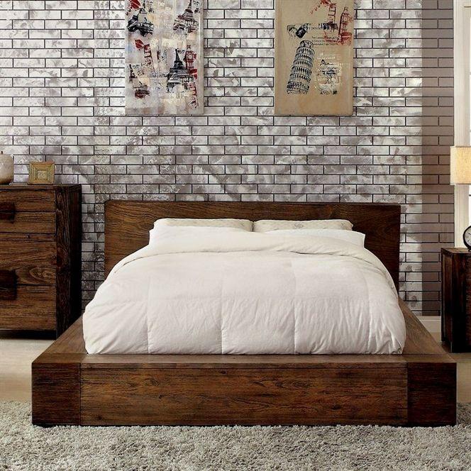 Morgana Platform Bed Interior Soverom Inspo Og Hus