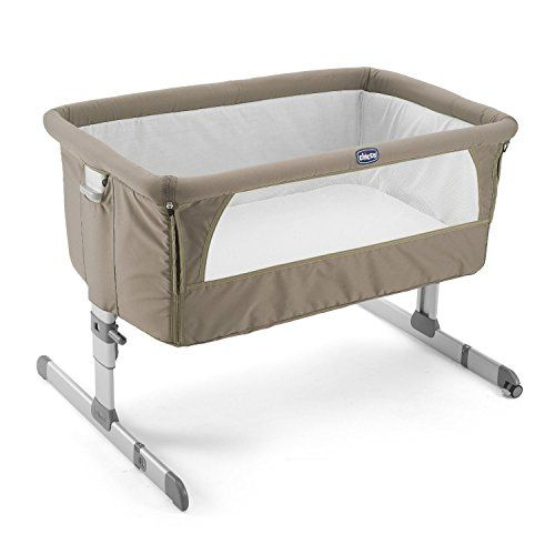 L149.99 amazon.co.uk - Chicco Next to Me Crib (Dove Grey) Height: 35 - 52cm dimensions: 69 x 93 x 81 cm CONCERNS: Only co-sleeper side that opens contains air vents -the other 3 sides are just solid material...surely this has the same risks associated with it as having bumpers all the way around a cot! There is no option for the flap to unzip all the way down, you have to lift them over a few inches of messy zip and scrunched up material. KEYWORDS: bassinet, drop-side, bed-level, co-sleeper