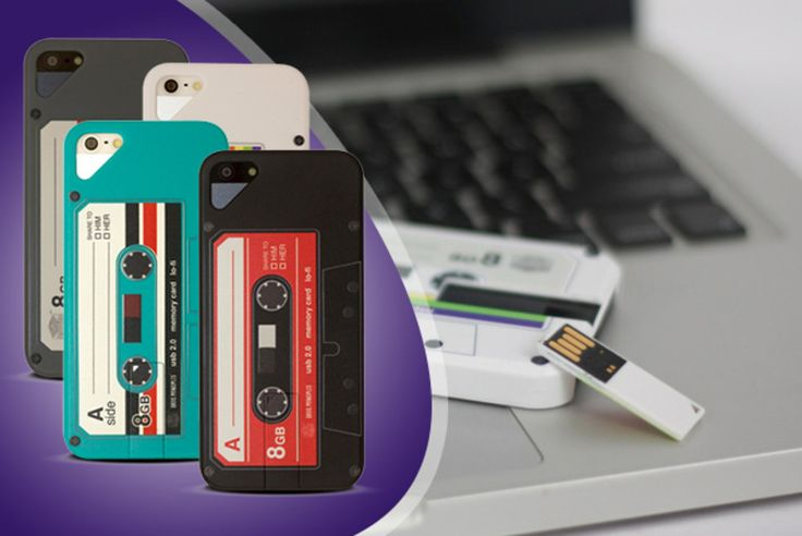 USB 'Mixtape' iPhone Case