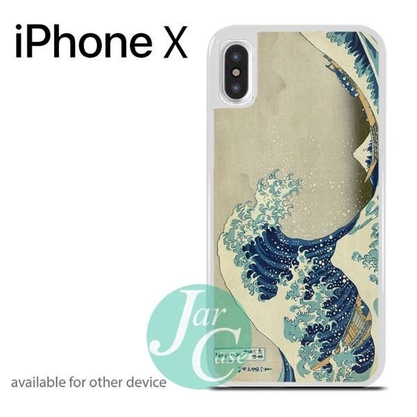 great wave of kanagawa Phone case for iPhone X