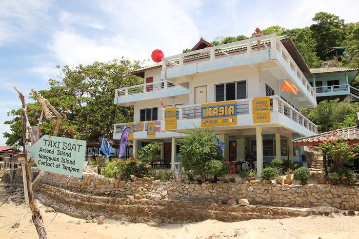 Escuela de buceo en Ko Tao: IHASIA http://soloida.com/2014/07/08/curso-buceo-kohtao/
