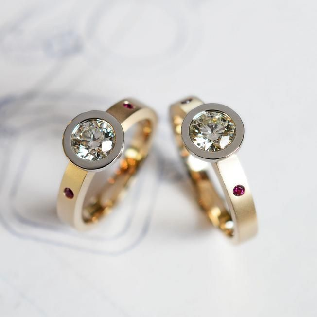19 besten ringe bilder auf pinterest ehering for Bj custom designs