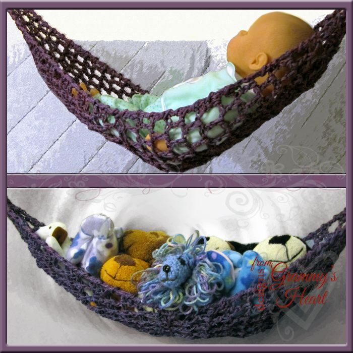 Crochet Pattern For Baby Hammock : 1000+ ideas about Stuffed Animal Hammock on Pinterest ...