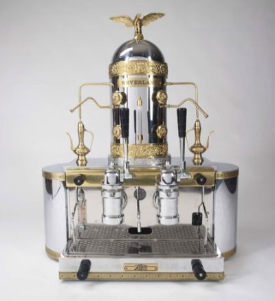 I would LOVE to own this spectacular Brevetti-gaggia-espresso-and-cappuccino-machine
