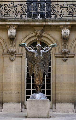 Paris, Rue de Sévigné, Musée Carnavalet, Cour de la Victoire (Court of Victory)