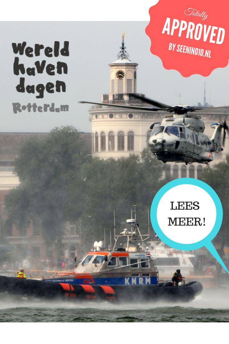 De Wereldhavendagen in Rotterdam bestaat al geruime tijd, dit jaar wordt het de 39ste keer dat het wordt gehouden! Het is bedoeld om kennis te maken met en een kijkje achter de schermen te geven van de Rotterdamse haven onder andere door scheepsbezichtigingen, demonstraties op het water en presentaties van havenbedrijven. Voor meer info kijk op: http://seenin010.nl/blog/wereldhavendagen-2016/ #seenin010 #Rotterdam #Wereldhavendagen