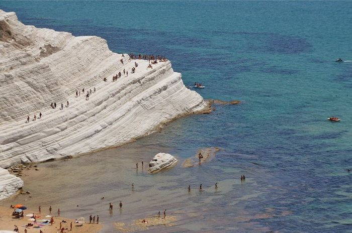 Scala dei Turchi - unusual beach on the island of Sicily (Italy)
