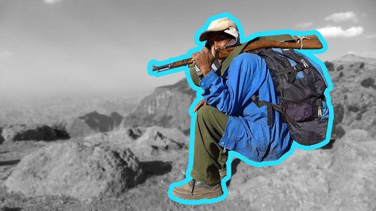 Эфиопский дневник №05 - «Кровоточащее сердце» Сыменских гор