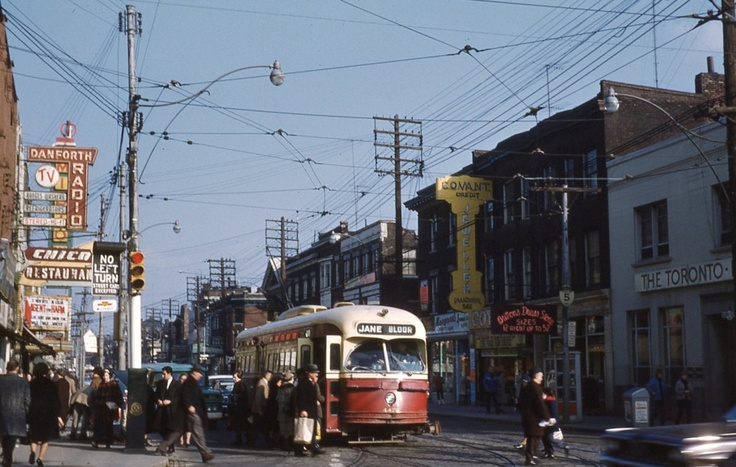 Bloor and Bathurst 1966