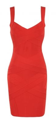Shop: http://www.celebboutique.com/jennifer-cross-back-red-bandage-dress-en.html