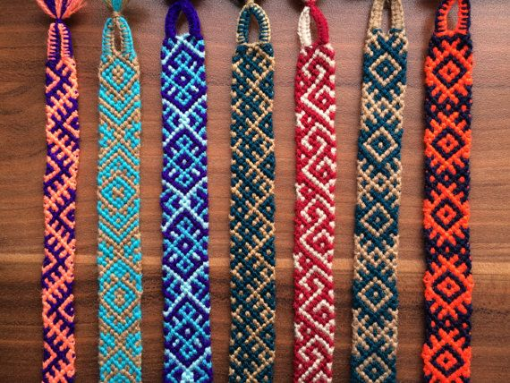 Friendship Bracelet.Braided.Wrap.Handwowen Spring gifts.Friendship Jewelry.Aztec.Native.Best Friends gifts.Blue.Red.Green.Boy.Girl.Slavic