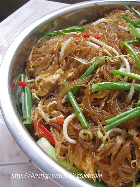 My Little Space: Meatless Braised Cellophane Noodle