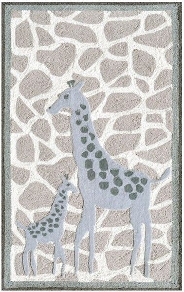 Entryway Rugs Rug Market Kids Safari Mommy u Me Grey White Area Rug The Rug