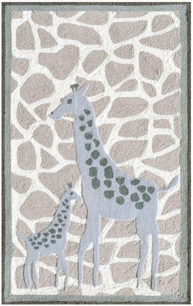 Safari Nursery Rug Home Decor
