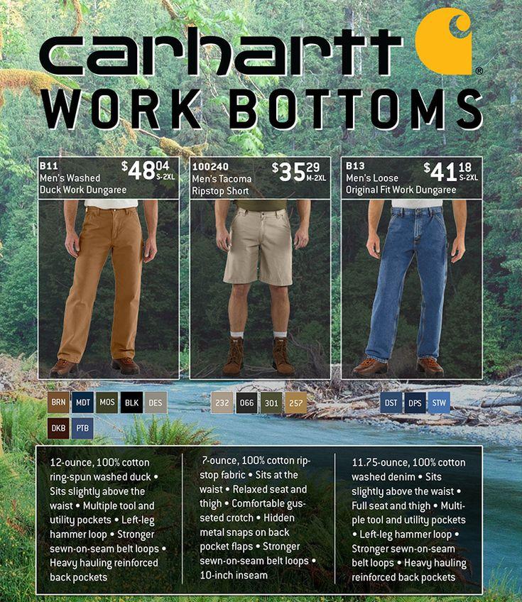 Carhartt Work Bottoms