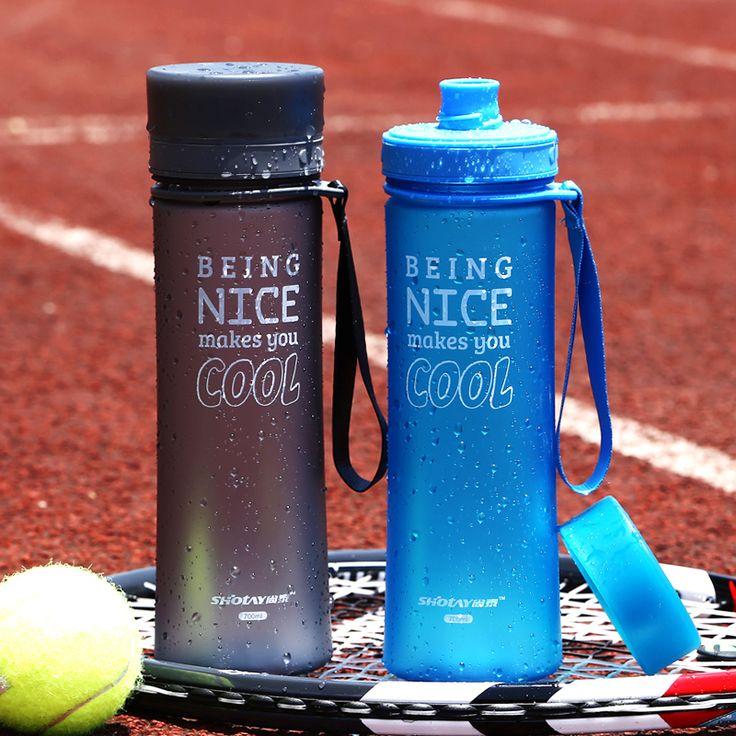 700ML My Water Bottle Sport Bike Cycling Water Bottles For Water Portable Tea Infuser Plastic Cup Tumbler garrafa de agua
