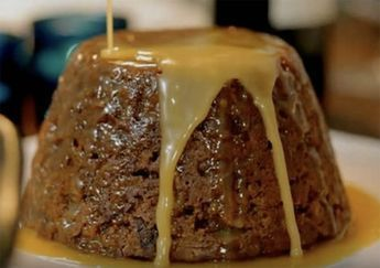Recette: Gâteau aux dattes et sauce au caramel de maman.