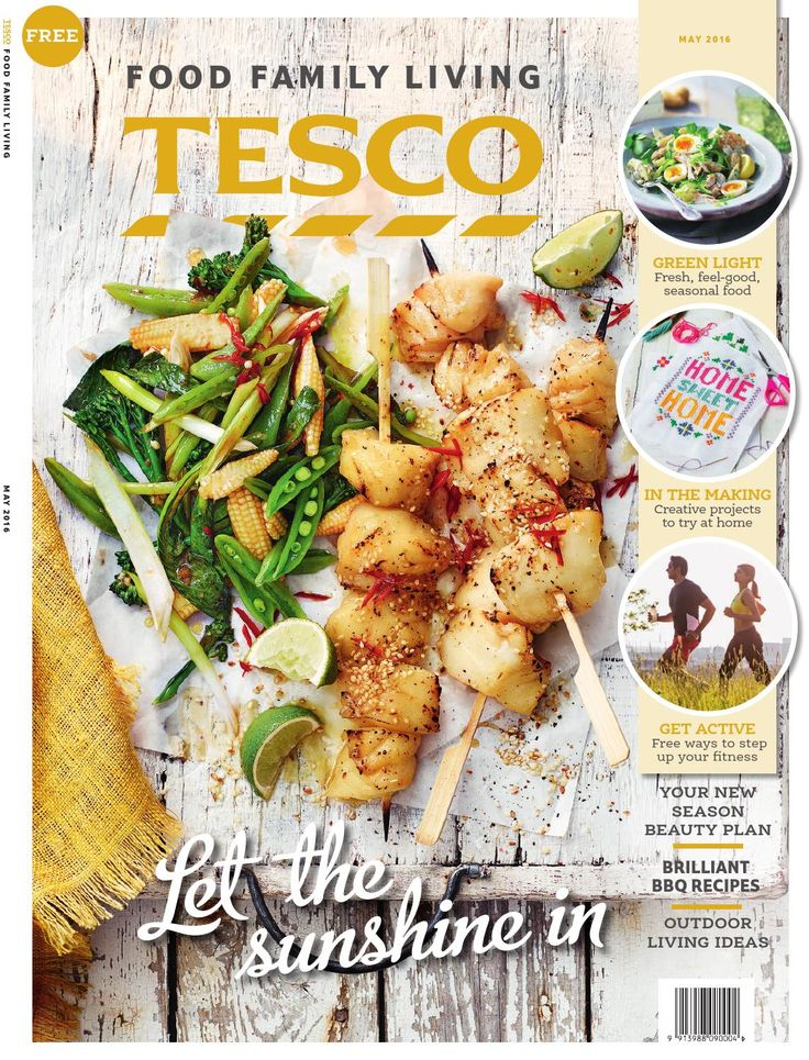 Tesco magazine – May 2016