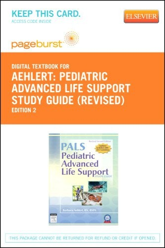 Pediatric Advanced Life Support Study Guide – « LibraryUserGroup.com – The Library of Library User Group
