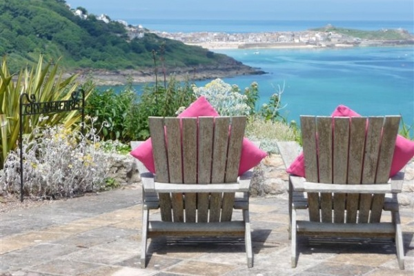 Got to love this view to St Ives, Cornwall.  #self catering