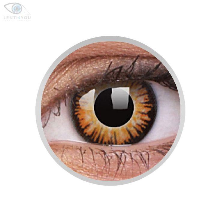 Lenti a contatto colorate gialle TWILIGHT Crazy Lens. 2 lenti COSPLAY| Lenti4YOU
