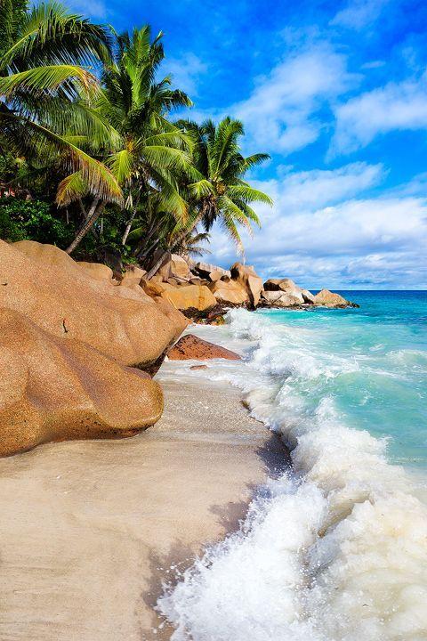 La Digue, Seychelles.