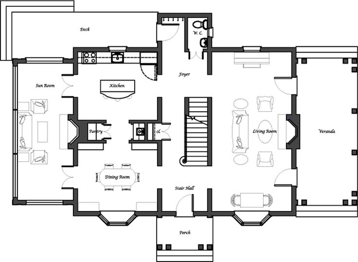 11 best Colonial house plans Master suites images on Pinterest ...