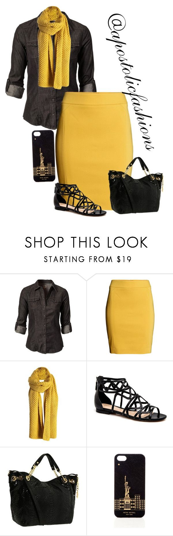 """""""Apostolic Fashions #1296"""" by apostolicfashions ❤ liked on Polyvore featuring ONLY, H&M, MICHAEL Michael Kors and Henri Bendel"""