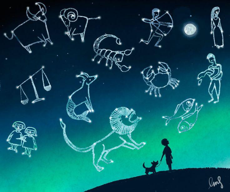 Zodiac- Emma Scheltema Illustration