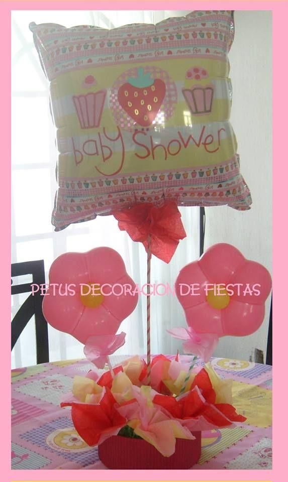 18 best decoraci n para baby shower y bautizo images on - Decoracion para bautizo de nina ...