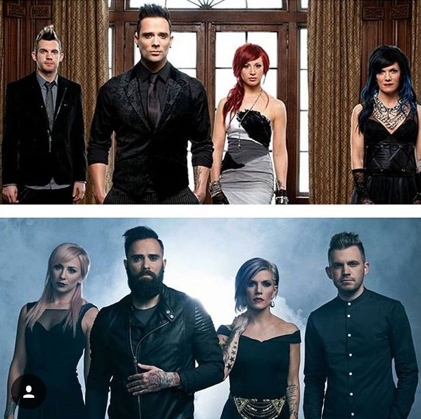 I <3 SKILLET!!!!!!!! They always change... it's cool!! :D