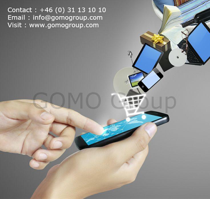 GOMO Group erbjuder anpassade skräddarsydda e-handels webbplatser för att sälja dina produkter på nätet. GOMO Group är ledande inom mobila e -handels webbplatser till låga priser.