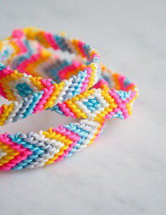 Classic Friendship Bracelets | Purl Soho