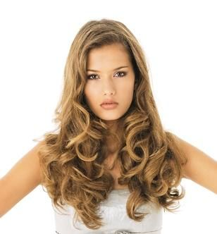 Peinados de Fiesta Pelo Largo - Muy Lindos #longhair #curlyhair