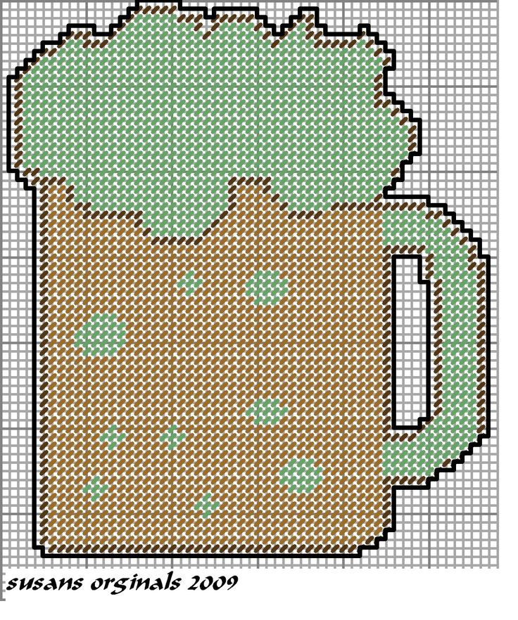 1000 Images About Beer Mugs And Man Cave Plastic Canvas