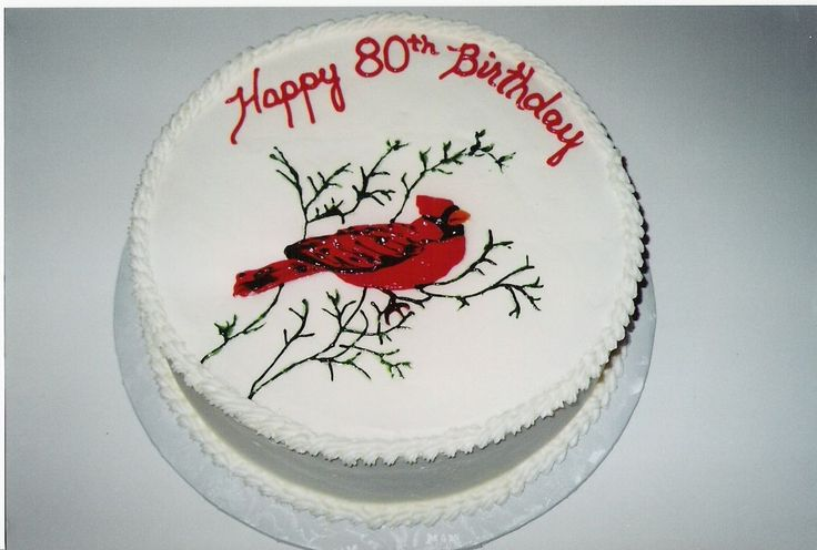 Cardinal Cake Images : 64 best images about cardinal bird cakes on Pinterest ...