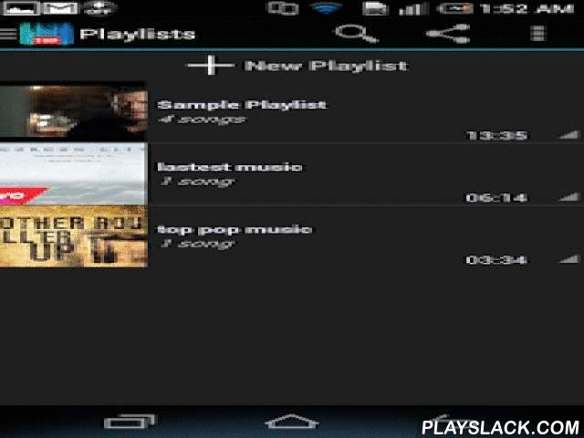 TopMusicTube Top Music Youtube  Android App - playslack.com , TopMusicTube list the most popular video song on Youtube by week and by month of more than 70 countries. Some main functions of TopMusicTube:- Set auto stop video when you sleep- List most popular songs by week of your country- Share the video via Facebook, Twitter, Google+,...- Manage your playlist (create, rename, delete)- Create group favorite and watch later- Play random, repeat one, repeat all playlist song- Get relate videos…