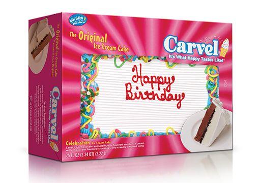 Carvel® Family Size Ice Cream Cake – Confetti Happy Birthday