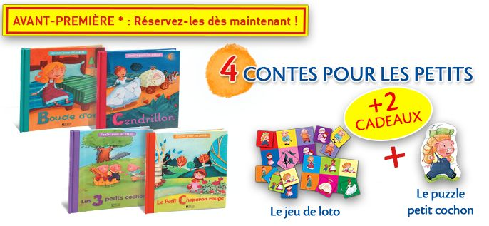 Editions Atlas: 4 livres de contes à 1,99€