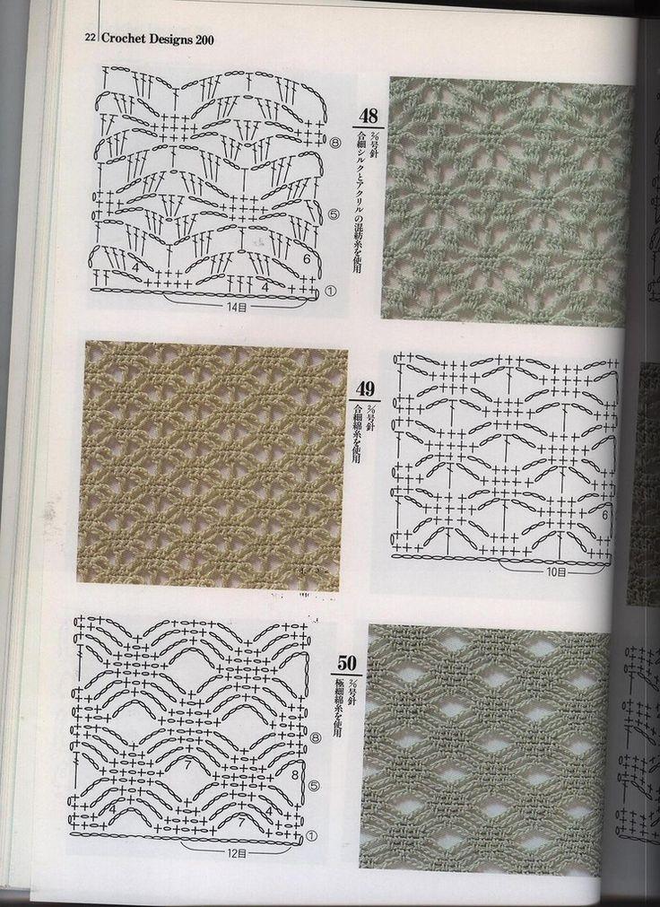 221 best Puntos a crochet images on Pinterest | Diarios online ...