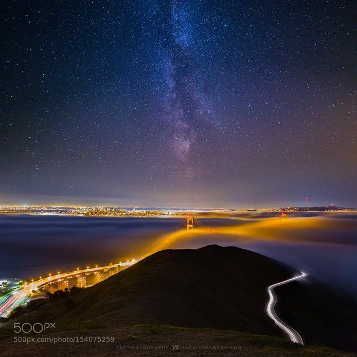 Misty Night  JACKIETRANANH.COM  FACEBOOK | INSTAGRAM  Image credit: http://ift.tt/1TVNGMt Visit http://ift.tt/1qPHad3 and read how to see the #MilkyWay  #Galaxy #Stars #Nightscape #Astrophotography