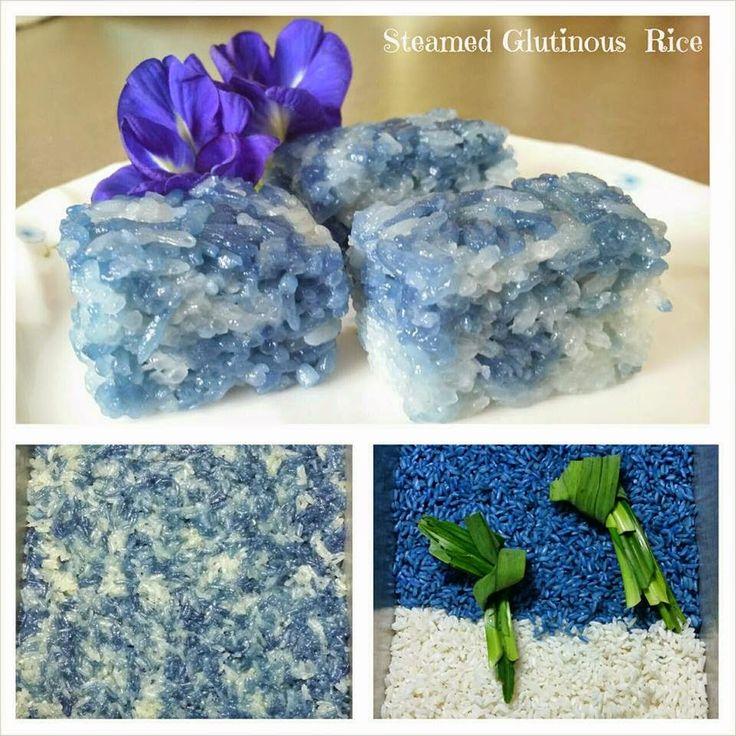 Baking's Corner: Steamed Glutinous Rice. Pulut Tai Tai - by Share...