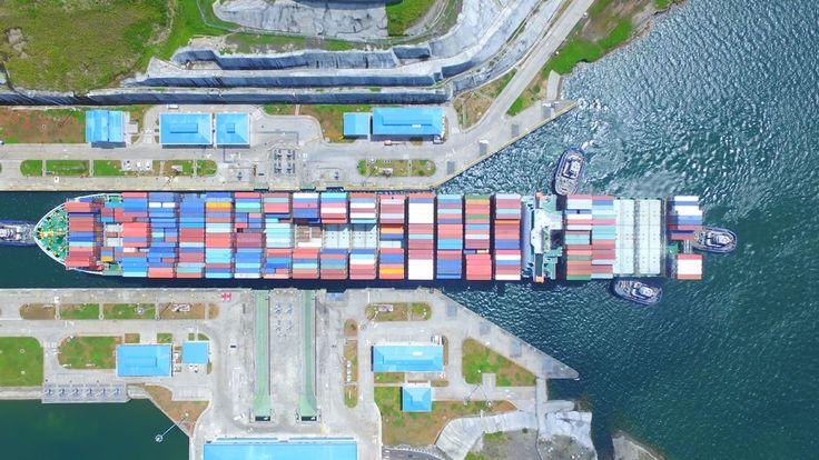 Panama Canal Marks 2,000 Transits Through Expanded Locks  Photo : Panama Canal Authority / gCaptain