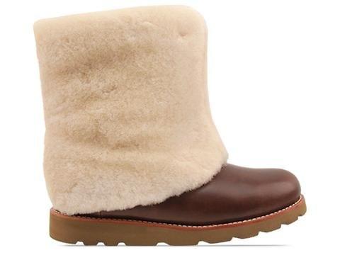 New UGG® Australia Maylin Chestnut Leather 7 Womens Boots | UGG Boots |  Boswijck.