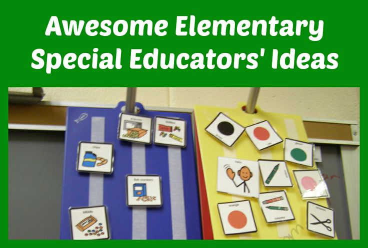 This is a Pinterest board for collecting ideas for elementary special education teachers. @Christine Ballisty Reeve-Autism Classroom News