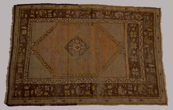 The Turkish Sultan presented Barton with this rug as a token of appreciation after the American Red Cross provided relief after Turkish-Armenian conflict in 1896. The relief effort could not have taken place without Barton's ability to secure permission from the rulers of the Ottoman Empire for American Red Cross workers to travel throughout the stricken regions. She accomplished what even the International Red Cross had been unable to negotiate.